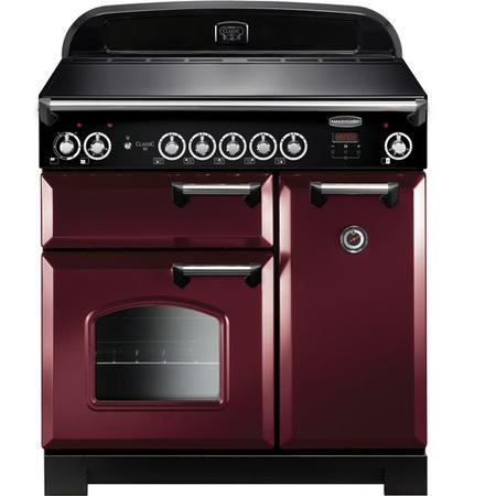 Rangemaster CLA90EICYC 11696 Classic 90cm Electric Range Cooker With Induction Hob  - Cranberry With