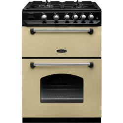 Rangemaster 10732 Classic 60cm Gas Cooker Cream And Chrome