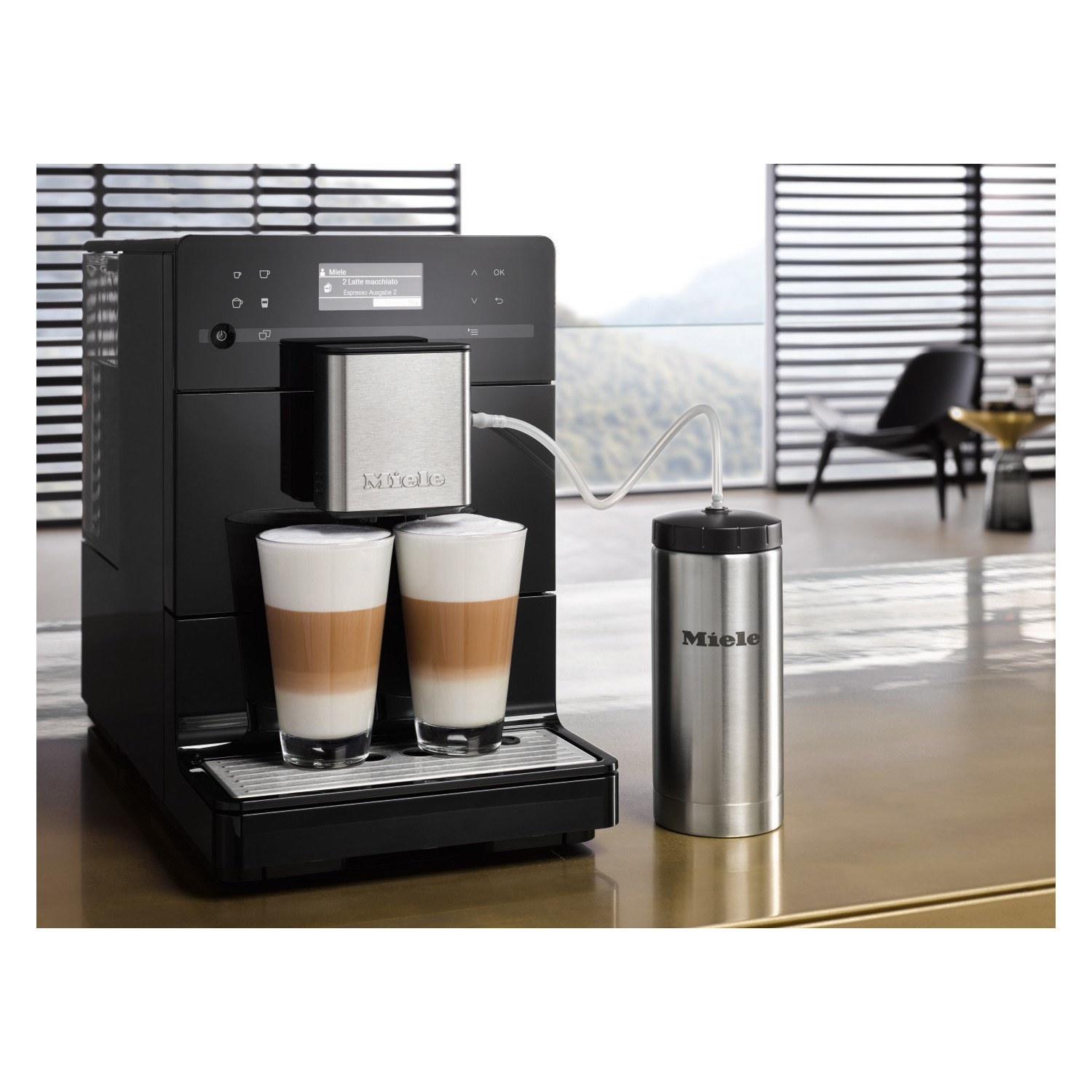 Miele Cm5300 Bean To Cup Coffee Machine Obsidian Black