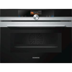 Siemens CM676GBS6B iQ700 Stainless Steel Built-in Combination ...