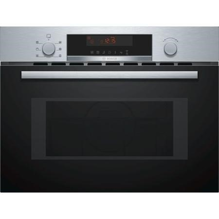 Bosch CMA583MS0B Serie 4 Built-in Combination Microwave Oven - Stainless Steel