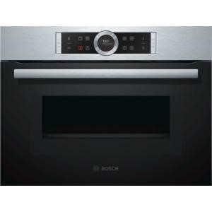Bosch CMG633BS1B Compact Height Built-in Combination Microwave Oven Stainless Steel