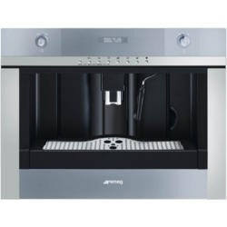 Smeg CMSC45 Linea Compact Fully Automatic Built-in Coffee Machine Stainless Steel