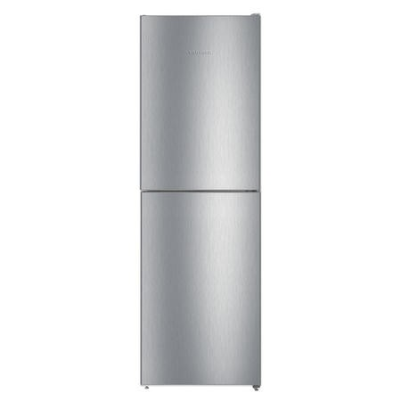 Liebherr CNEL4213 186x60cm 294L 50/50 NoFrost Freestanding Fridge Freezer - Stainless Steel Look