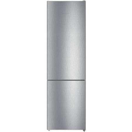 Liebherr CNEL4813 201x60cm 338L NoFrost Freestanding Fridge Freezer - Stainless Steel Look