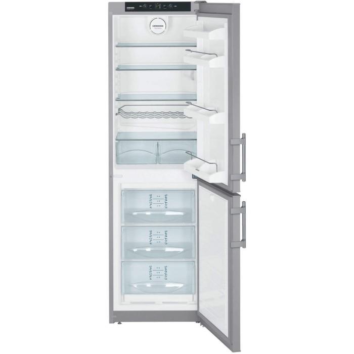 grade a3 liebherr cnsl3033 nofrost freestanding fridge freezer silver 77288492 1 cnsl3033. Black Bedroom Furniture Sets. Home Design Ideas