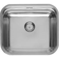 Reginox COLORADO-COMFORT Large 1.0 Bowl Undermount Stainless Steel Sink