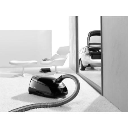 Miele COMPLETEC2POWERLINE 900W Cylinder Vacuum Cleaner - Black
