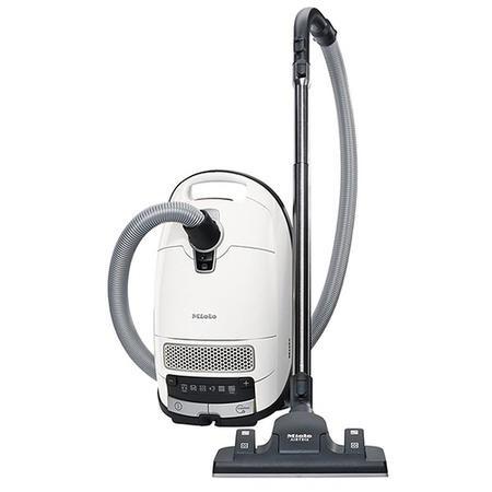 Miele CompleteC3SilenceEcoLine 800W Cylinder Vacuum Cleaner Lotus White