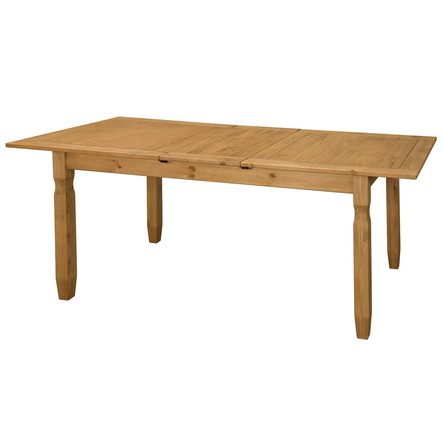Corona Solid Pine Wood Large Extending 6 8 Seater Dining