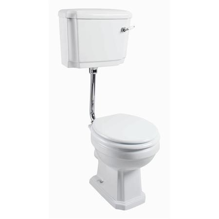 Traditional Low Level Toilet - Without Seat