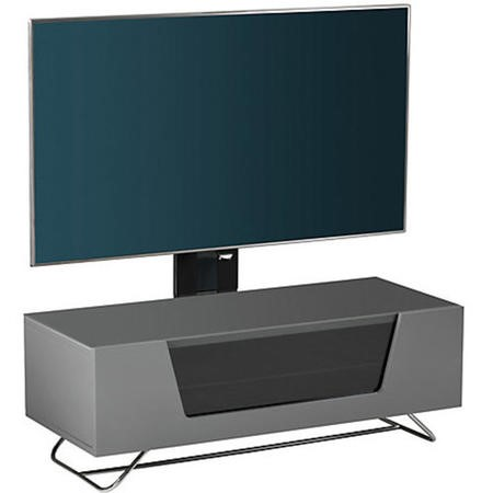 "Alphason CRO2-1000BKT-GR Chromium 2 TV Cabinet with Bracket for up to 50"" TVs - Grey"