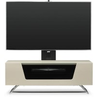 Alphason CRO2-1000BKT-IV Chromium 2 TV Cabinet with Bracket for up to 50