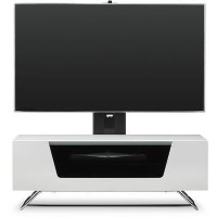 Alphason CRO2-1000BKT-WH Chromium 2 TV Cabinet with Bracket for up to 50