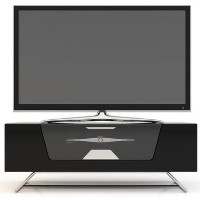 Alphason CRO2-1000CB-BLK Chromium TV Stand for up to 50