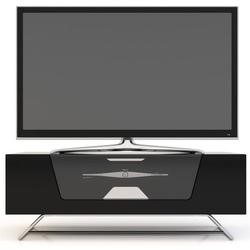 Alphason CRO2-1000CB-BLK Chromium Black TV Cabinet - Up To 50 Inch