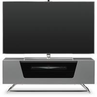 Alphason Chromium high gloss Grey TV Cabinet