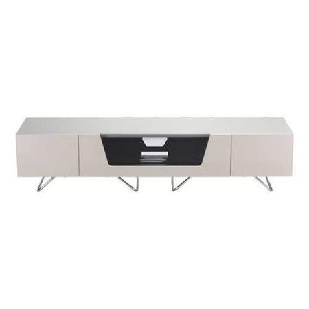 "Alphason CRO2-1600CB-IVO Chromium 2 TV Cabinet for up to 72"" TVs - Ivory"