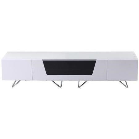 "Alphason CRO2-1600CB-WHT Chromium 2 TV Cabinet for up to 70"" TVs - White"