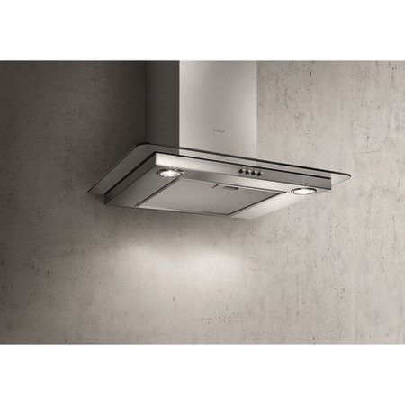 Elica CRYSTAL-60 Crystal Flat Glass 60cm Chimney Cooker Hood Stainless Steel