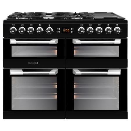 Leisure CS100F520K Cuisinemaster 100cm Dual Fuel Range Cooker - Black