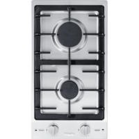 Miele CS1012-1G 29cm Two Burner Gas Hob - Stainless Steel