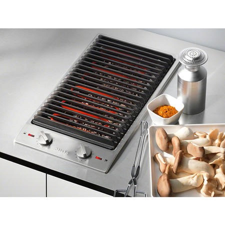 Miele CS1312BG 29cm Barbeque Grill Domino Hob