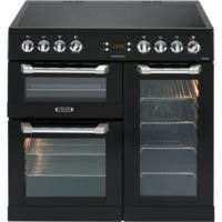 Leisure CS90C530K Cuisinemaster Black 90cm Electric Range Cooker With Ceramic Hob