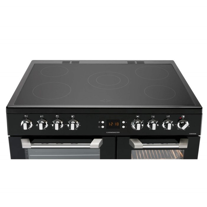 Leisure Cs90c530k Cuisinemaster Black 90cm Electric Range