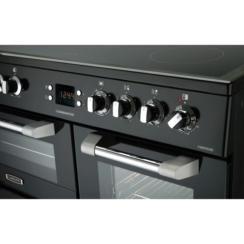 Leisure CS90C530K Cuisinemaster Black 90cm Electric Range Cooker