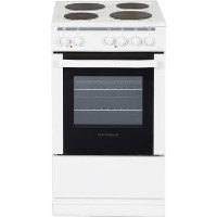NordMende CSE514WH 50cm Freestanding Electric Cooker With Sealed Plate Hob - White Best Price, Cheapest Prices