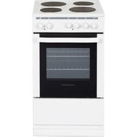 Nordmende CSE514WH 50cm Freestanding Electric Cooker With Sealed Plate Hob - White
