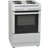 NordMende CSE63WH 60cm Single Oven Electric Cooker With Ceramic Hob - White Best Price, Cheapest Prices