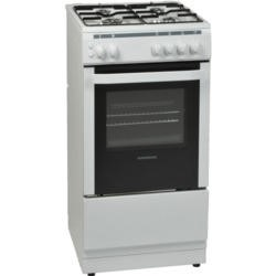 NordMende CSG50LPGWH 50cm LPG Gas Single Cavity White Cooker