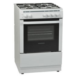 NordMende CSG60LPGWH 60cm LPG Gas Single Cavity White Cooker