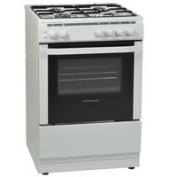 Nordmende CSG61LPGWH Gas Single Cavity White LPG Jets Freestanding 60cm Cooker