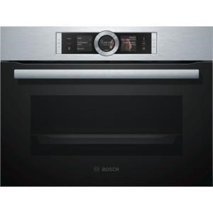 Bosch CSG656BS1B Compact Height Built-in Steam Oven Stainless Steel