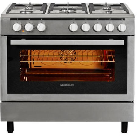 Nordmende CSG91IX 90cm Dual Fuel Range Cooker Stainless Steel