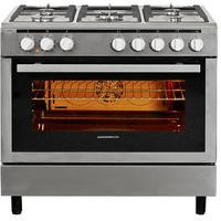 Nordmende CSG91IX 90cm Duel Fuel Range Cooker Stainless Steel