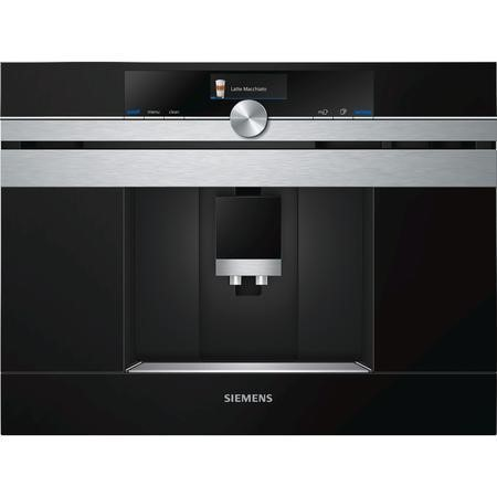 Siemens CT636LES6 iQ700 Wifi Connected Built In Bean to Cup Coffee Machine - Stainless Steel
