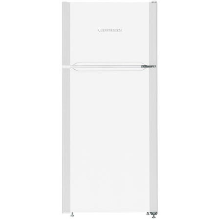 Liebherr CTP2121 Comfort 124x55cm 197L Top Mount Freestanding Fridge Freezer - White