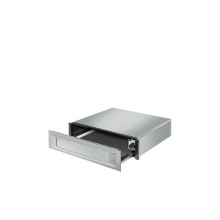 GRADE A1 - Smeg CTP9015X Victoria 15cm Height Stainless Steel Handleless Warming Drawer