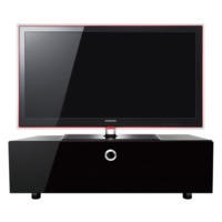 MDA Designs Cubic 1000 black TV Cabinet up to 50 inch