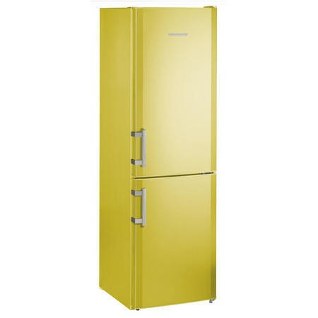 Liebherr CUag3311 Comfort ColourLine 182x55cm Freestanding Fridge Freezer AvocadoGreen