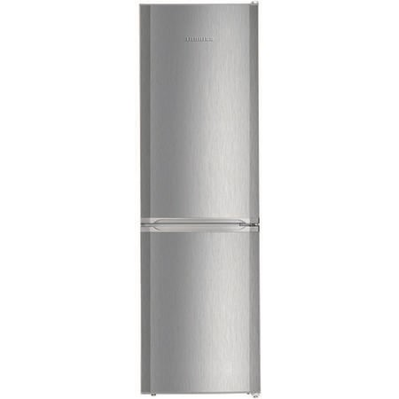 Liebherr CUel3331 181x55cm Freestanding Fridge Freezer - Stainless Steel Look