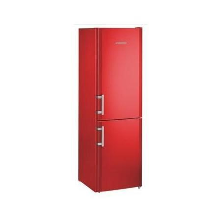 Liebherr CUfr3311 Comfort ColourLine 182x55cm Freestanding Fridge Freezer FireRed