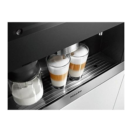 Miele CVA6405clst Automatic Bean to Cup Built-in Coffee Machine - Steel