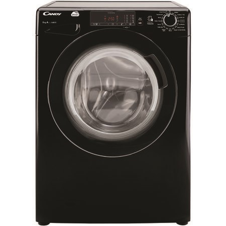 Candy CVS1482D3B Smart 8kg 1400rpm Freestanding Washing Machine - Black