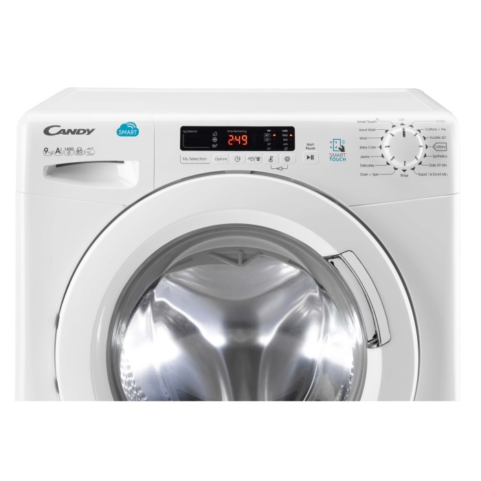 Candy Cvs1492d3 Smart 9kg 1400rpm Freestanding Washing Machine