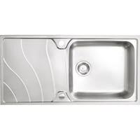 Astracast CW1050SXBQ Korner 1.0 Bowl Stainless Steel Sink
